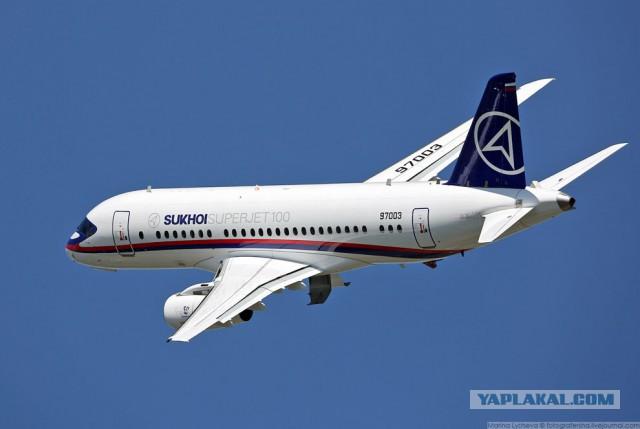В «Сухом» ответили на сообщения о блокировке США поставок SSJ-100 Ирану