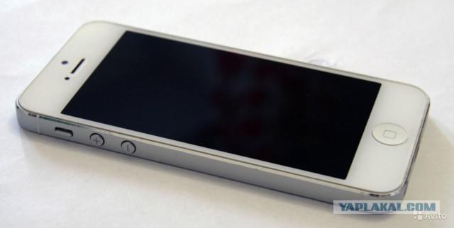 {Продам в МСК} iPhone 5 16gb White A1428
