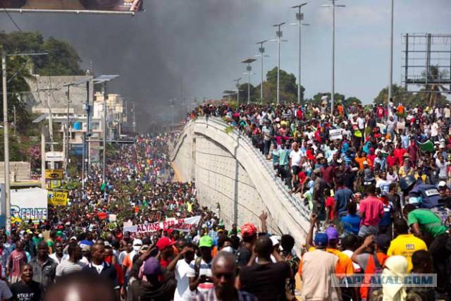 Неправильные протесты на Гаити