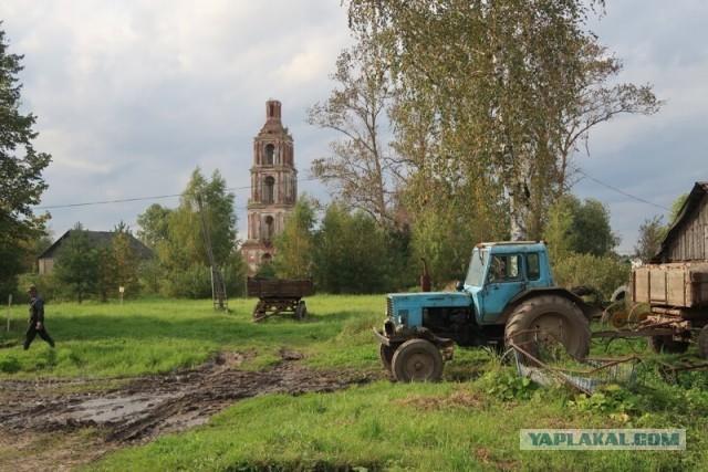 Умирающие деревни Ярославской области. Некоуз и Станилово. Разрушенные школы и церкви
