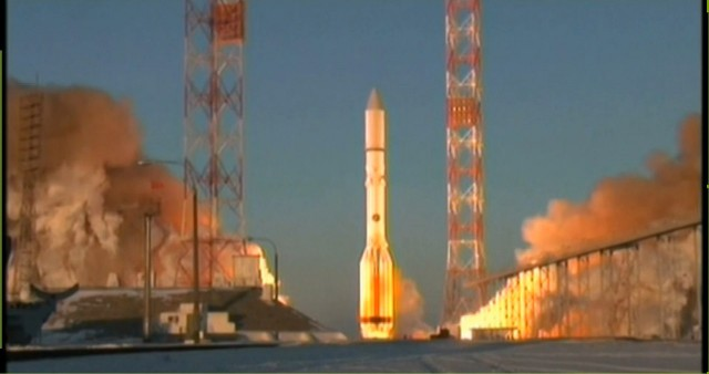 Роскосмос пуляет ракету