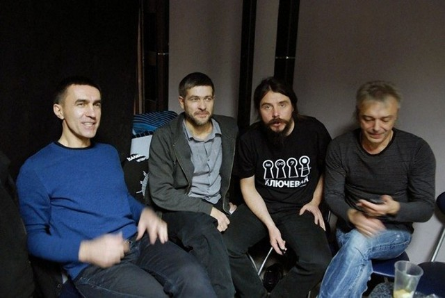 Малоизвестные фото российских рок музыкантов