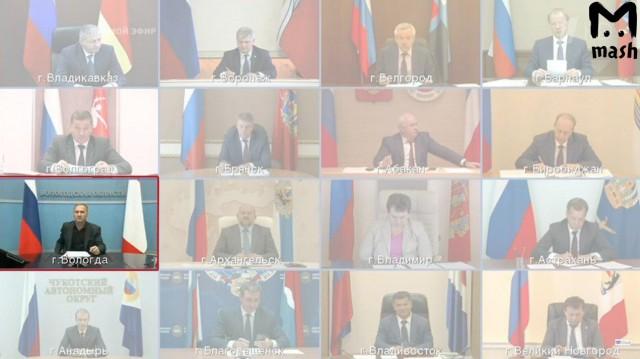 Глава Вологодской области опоздал на прямую линию и подменил себя оператором