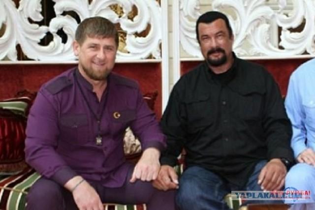 Стивен Сигал назвал Кадырова «братом»