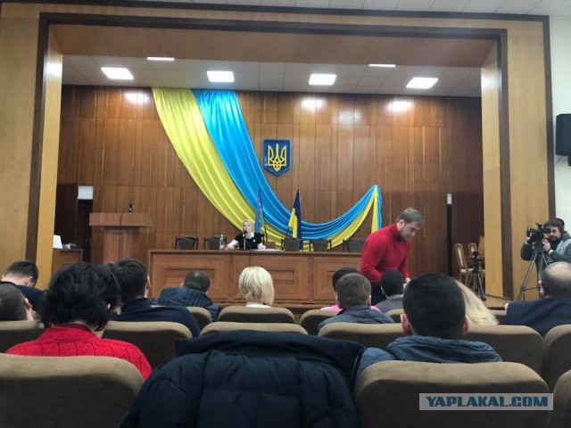 На встрече украинских депутатов внезапно заиграл гимн России