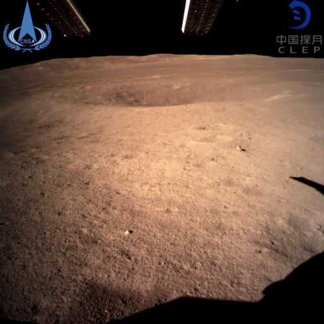 Китайский космический аппарат впервые в истории человечества успешно сел на обратную сторону Луны
