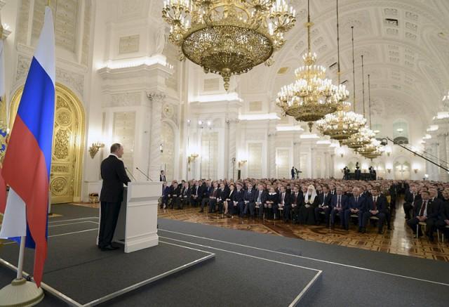 Путин предложил ввести присягу для чиновников и наказание за ее нарушение
