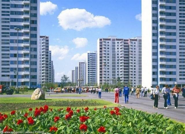 Фотопрогулка по улицам СССР