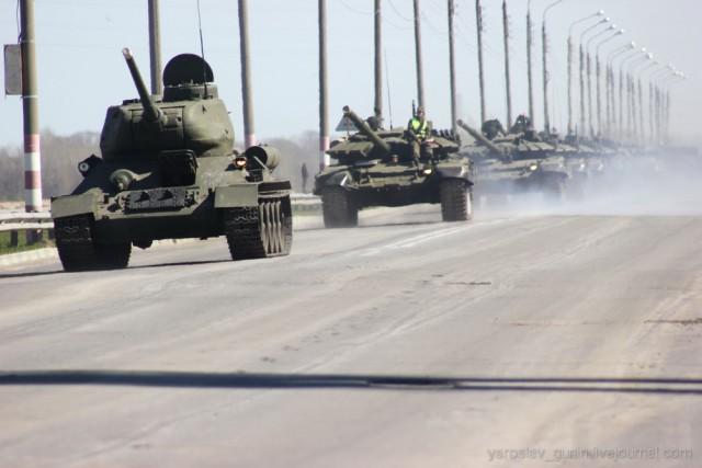 Как Т-34 готовят к параду Победы в Нижнем Новгороде