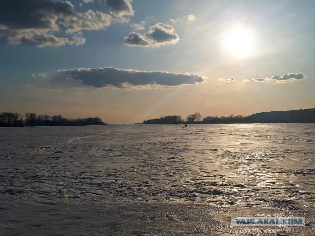 Закрытие зимнего сезона. Селедка из плотвы