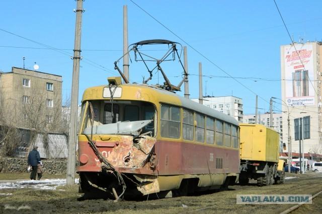 Трамвайная авария в Харькове