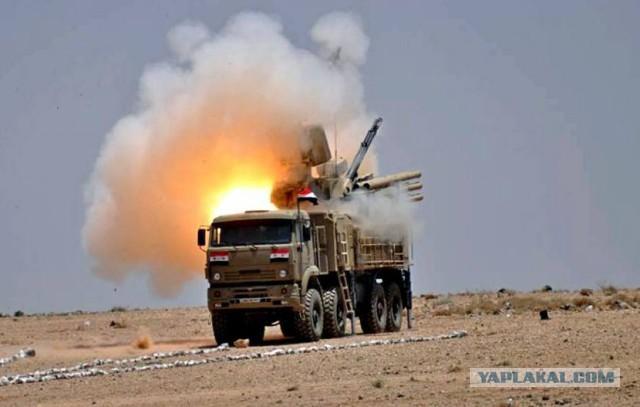 """В Сирии """"Панцирь С1"""" сбил новейшую израильскую ракету комплекса LORA"""