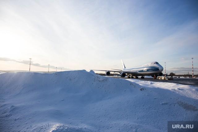 Самолет Путина приземлился в аэропорту Кемерово