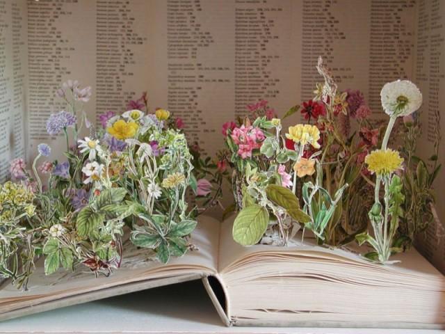 Поделки из книжек