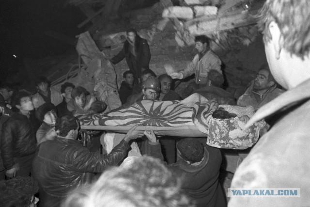 30 лет со дня землетрясения в Армении
