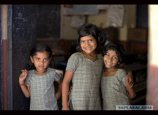 Индия-  большая , я-маленькая