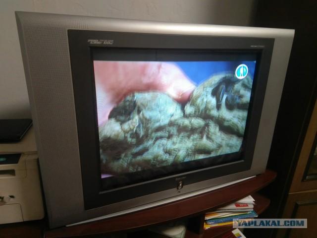 Продаю телевизор диагональ 70см 900руб Москва