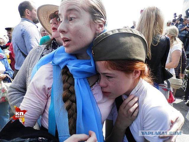 В Киеве ножом ударили националиста, который напал на девочку в День Победы
