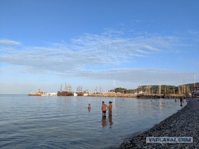 На море, в тепло, конец октября (Кемер 2020)