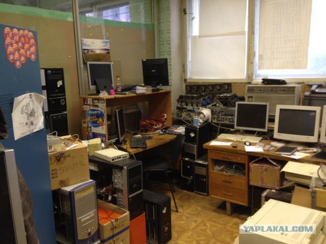 Откуда в мастерской столько хлама и откуда он берется?
