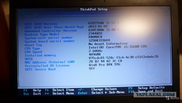 Продажа - Lenovo ThinkPad T430 I5 /4gb на выбор