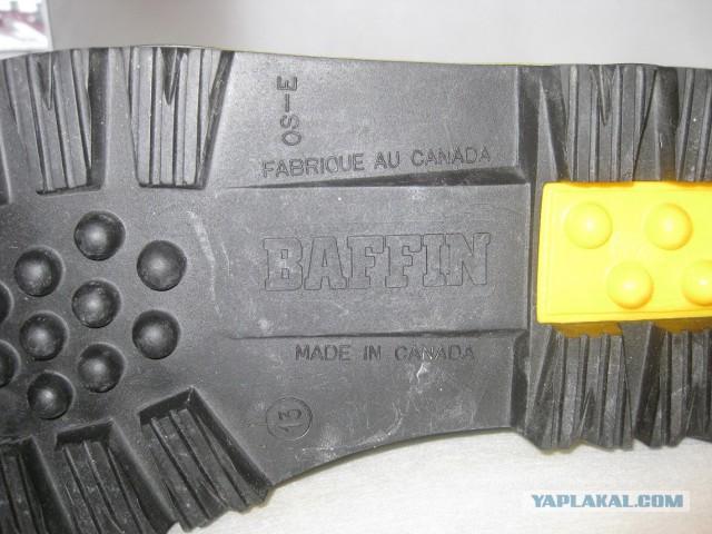 Продам Зимние сапоги Baffin Granite -100градусов Пересыл