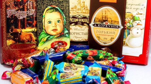 Русский продуктовый магазин в Лос-Анджелесе