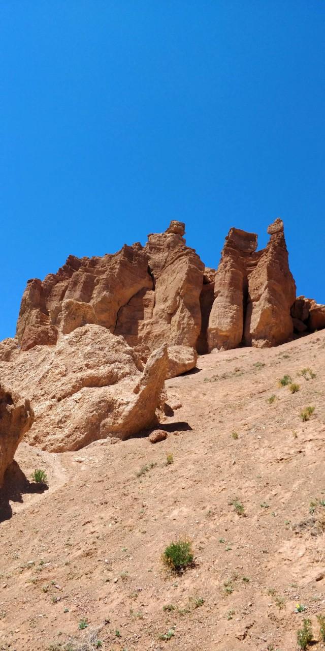 Чарынский каньон, Долина Замков