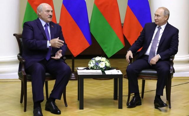 Путин поздравил Александра Лукашенко с победой на выборах президента Белоруссии