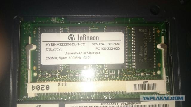 ищу модуль памяти для ноута SO-DIMM SDRAM 256
