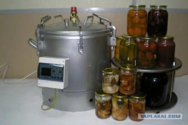 Автоклав консервирование в домашних условиях
