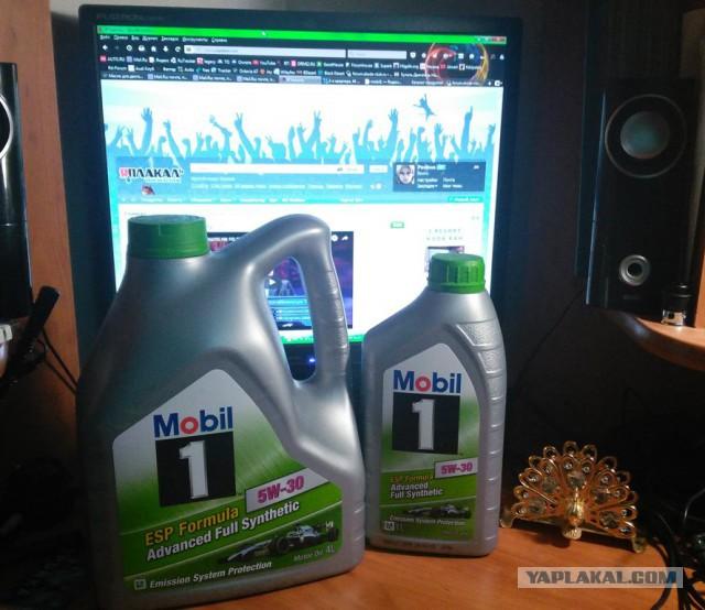Масло Mobil1 (Оригинал от дистрибьютора)
