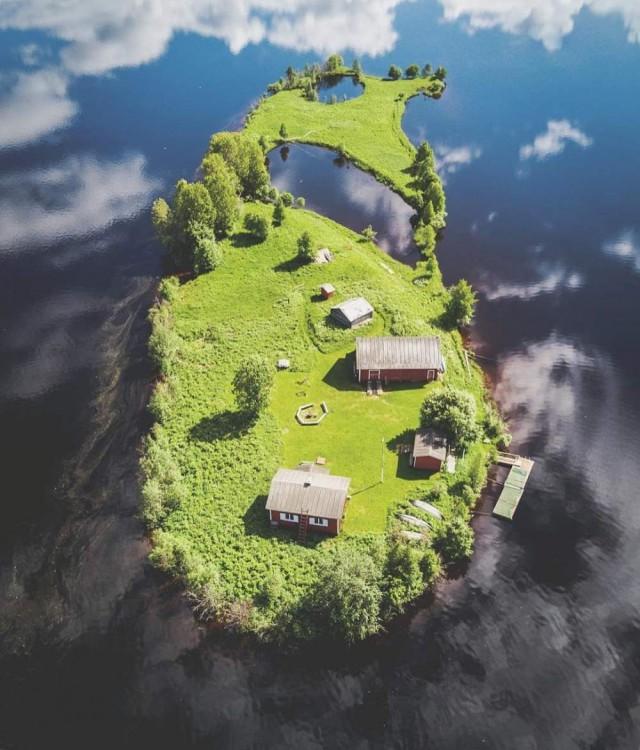 Тихий и очень красивый островок Котисаари