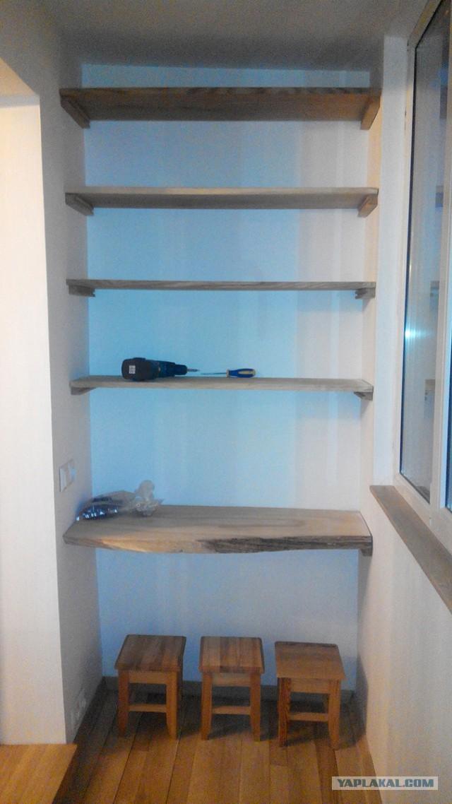 Очередной балкон на ЯПе или как я делал кабинет.