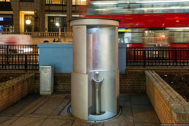 В Москве появятся открытые уличные туалеты для мужчин