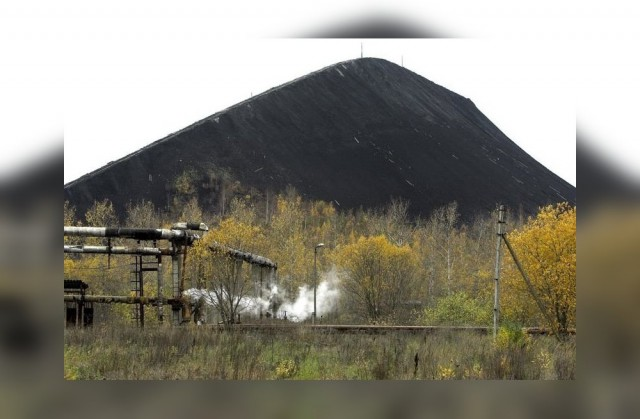 Концентрационный лагерь на территории шахты. много текста и фото 1941-1944