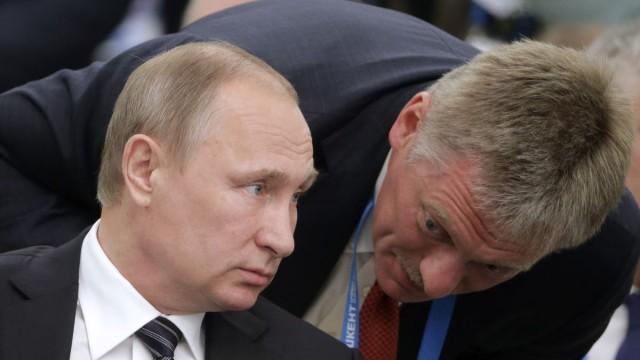 Песков заявил: «Это пустой шум» (о ситуации с Навальным)