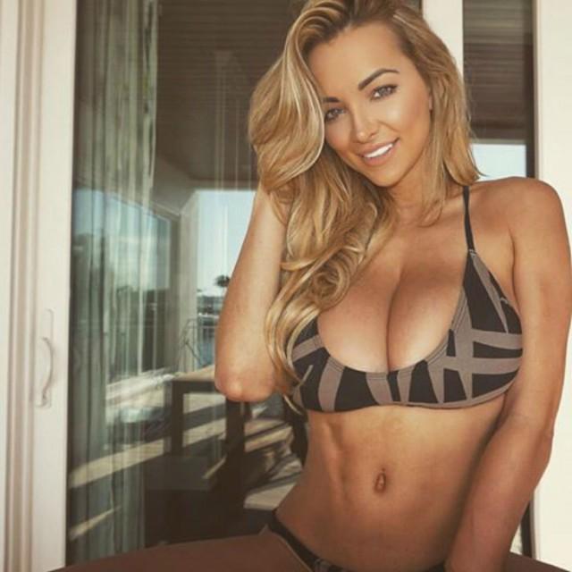 Звезда фитнеса и модель Playboy поделилась, как же тяжело живется с большой грудью