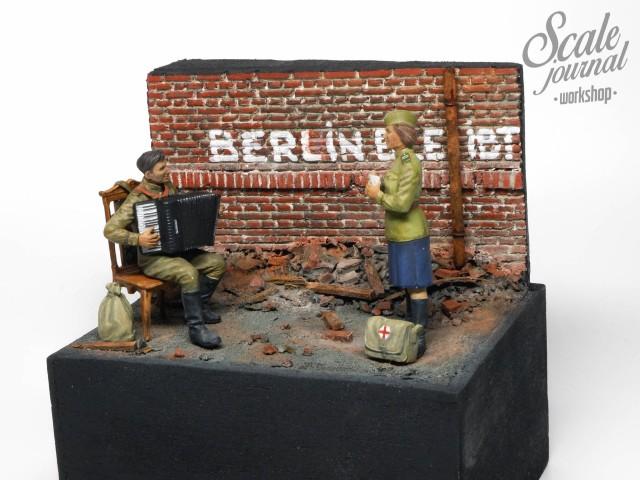 Мини диорама ко Дню Победы «Май 1945 года» своими руками.