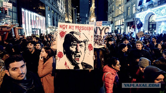 В Вашингтоне в день инаугурации Трампа ожидаются многотысячные протесты