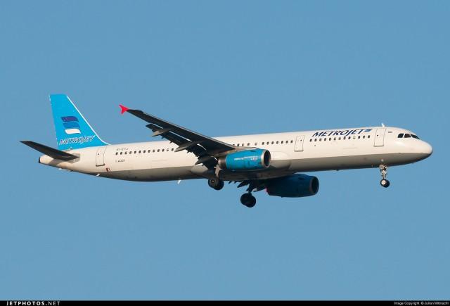 В Египте разбился российский пассажирский самолет