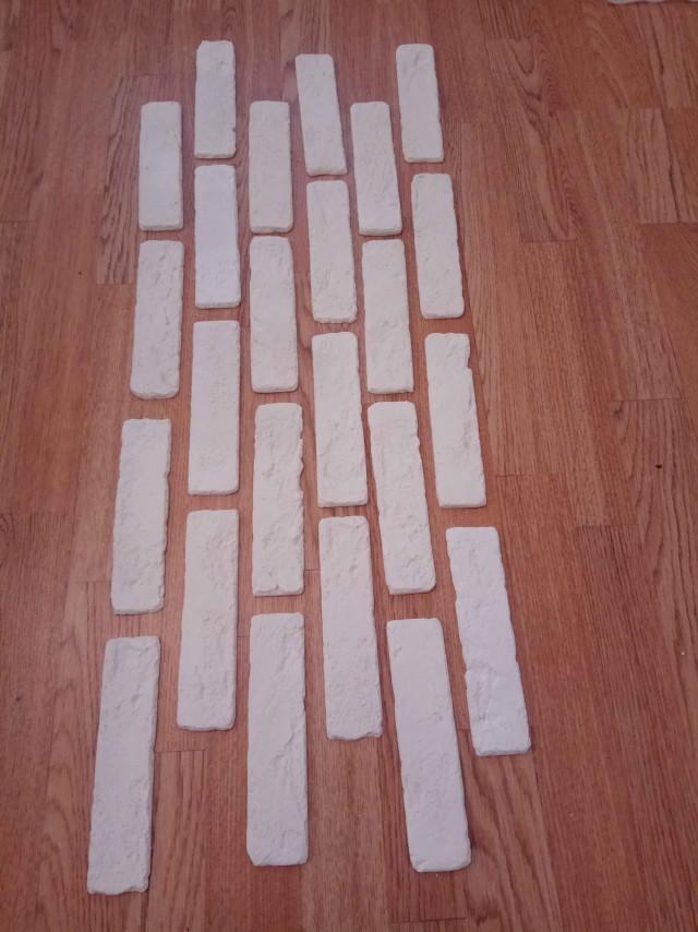 Декоративный кирпич из гипса своими руками (венецианский кирпич)