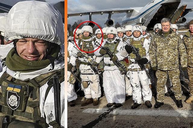 Украинский десантник извинился за фото с шевроном СС