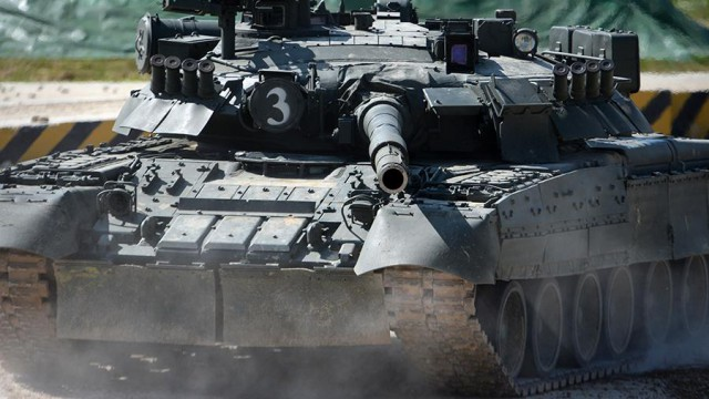 Весь мир в труху. Опубликовано видео испытаний новейшего танка Т-90МС