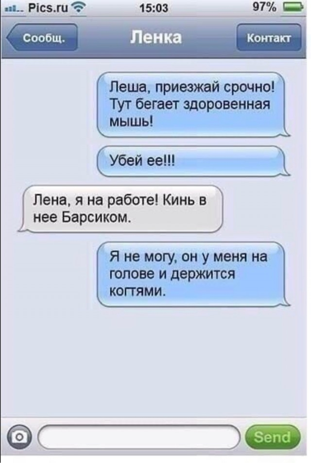 Ленка - интриганка