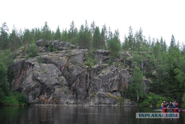 Поход по реке Тумча.
