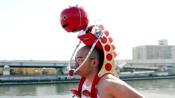 Робот-помидор (японцы жгут)