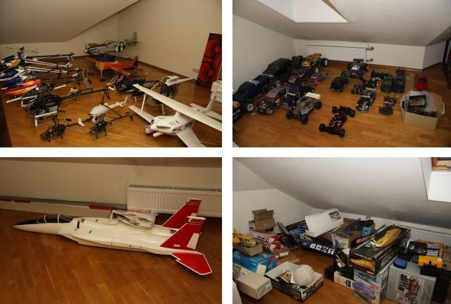 Распродаю RC-модели самолетов, машин, вертолетов