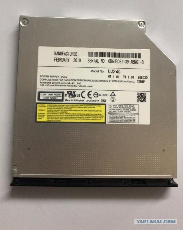 Blue ray Panasonic UJ-240 12.7 для ноутбука
