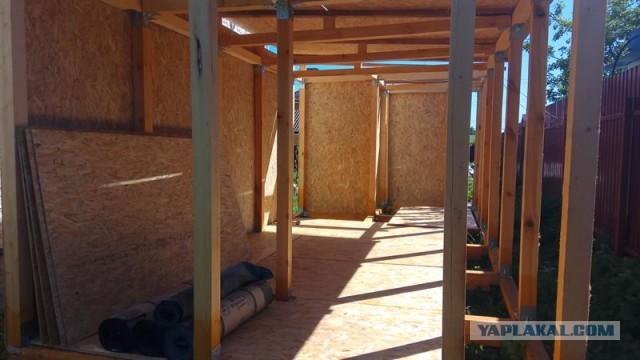 Строительство круглогодичной мастерской